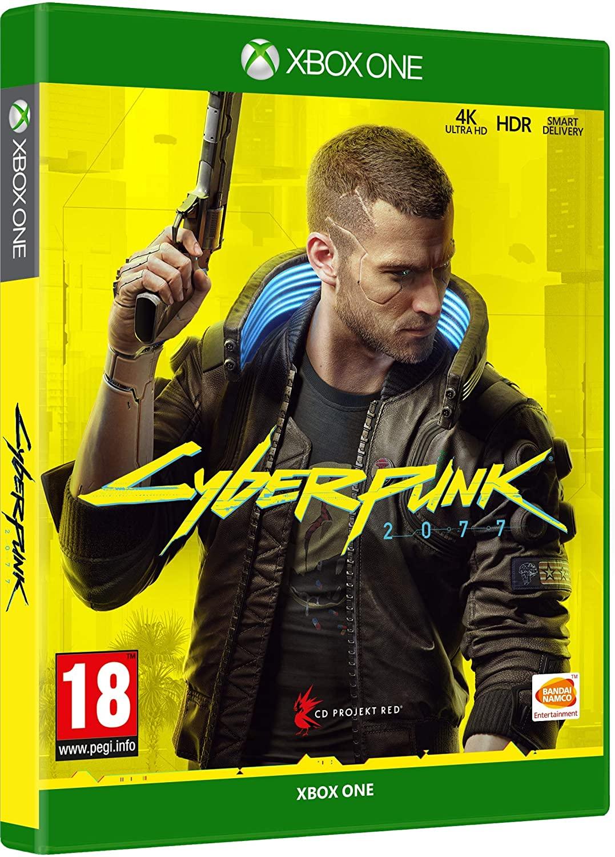carátula juego cyberpunk 2077